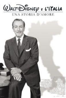 Watch Walt Disney e l'Italia - Una storia d'amore online stream