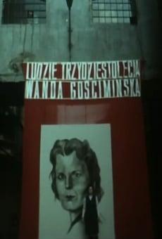 Wanda Gosciminska - wlókniarka online