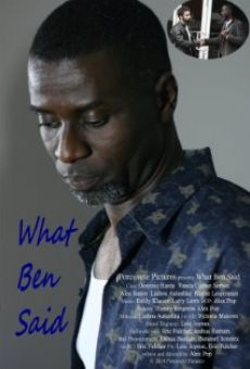 What Ben Said on-line gratuito