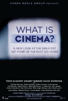 Película: What Is Cinema?
