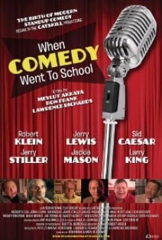 When Comedy Went to School gratis