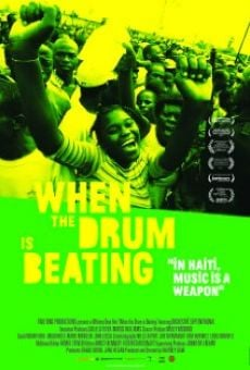Ver película When the Drum Is Beating