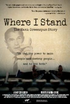 Where I Stand: The Hank Greenspun Story gratis
