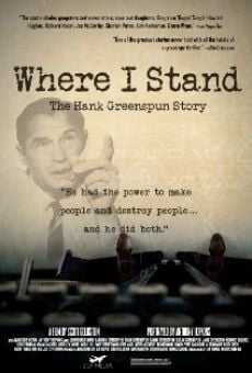 Película: Where I Stand: The Hank Greenspun Story