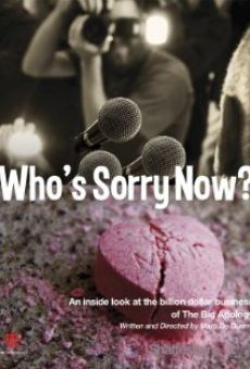 Who's Sorry Now? online