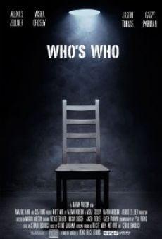 Ver película Who's Who