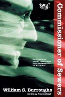 Película: William S. Burroughs: Commissioner of Sewers
