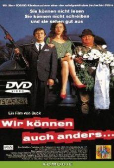 Ver película Wir können auch anders...