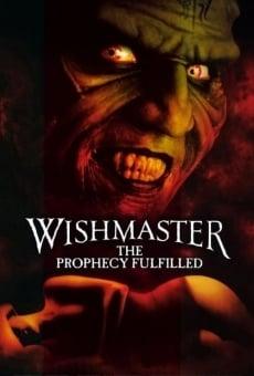 Wishmaster 4: La profecía online