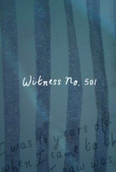 Witness No. 501