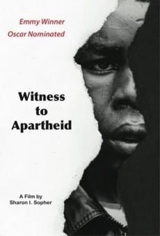 Witness to Apartheid online