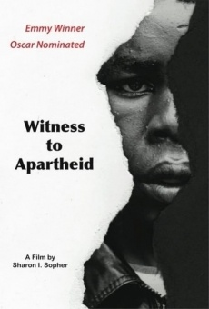 Ver película Witness to Apartheid