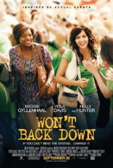 Won´t Back Down online gratis