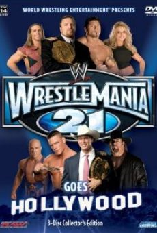 WrestleMania 21 on-line gratuito