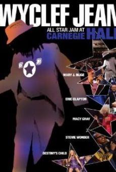 Wyclef Jean: All Star Jam at Carnegie Hall