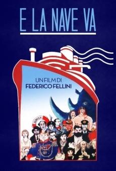 E la nave va di Federico Fellini online