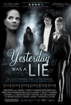 Película: Yesterday Was a Lie