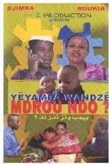 Película: Yéyamba Wandzé Mdrou Ndo?