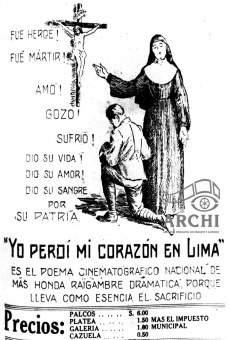 Yo perdí mi corazón en Lima online