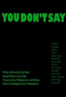 Ver película You Don't Say