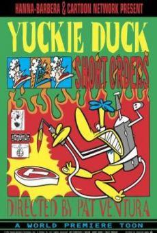 What a Cartoon!: Yuckie Duck in Short Orders