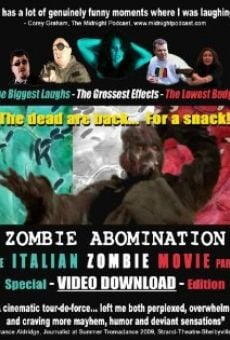 Zombie Abomination: The Italian Zombie Movie - Part 1 online streaming