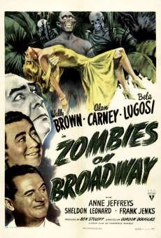 Zombies on Broadway on-line gratuito