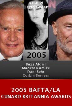 2005 BAFTA/LA Cunard Britannia Awards online free