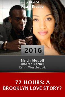 Watch 72 Hours: A Brooklyn Love Story? online stream