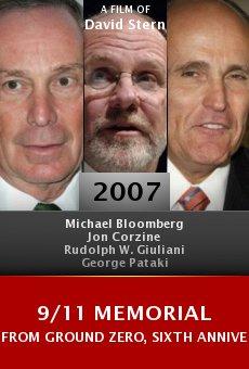 9/11 Memorial from Ground Zero, Sixth Anniversary online free