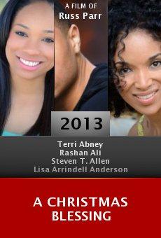 Ver película A Christmas Blessing