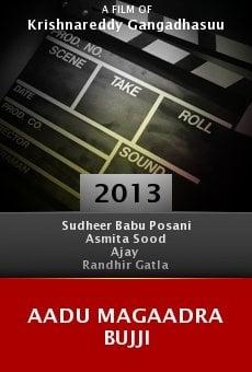 Watch Aadu Magaadra Bujji online stream