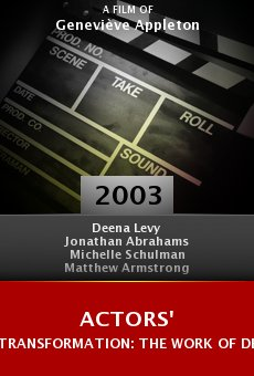 Actors' Transformation: The Work of Deena Levy and Her Students online free