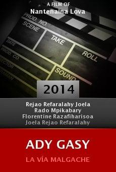 Watch Ady Gasy online stream
