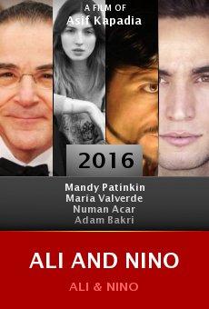 Ali and Nino online
