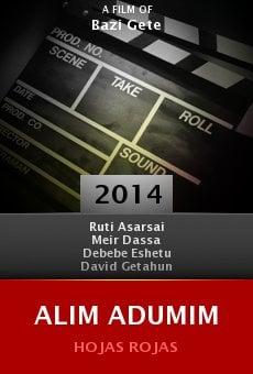 Ver película Alim adumim