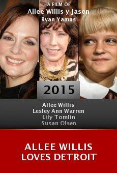 Watch Allee Willis Loves Detroit online stream