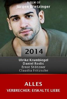 Ver película Alles Verbrecher: Eiskalte Liebe
