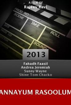 Ver película Annayum Rasoolum