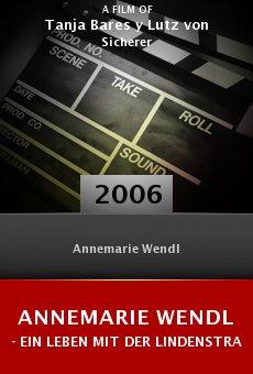 Annemarie Wendl - Ein Leben mit der Lindenstraße online free