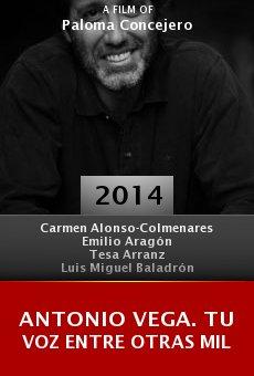 Ver película Antonio Vega. Tu voz entre otras mil