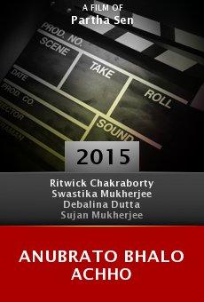 Ver película Anubrato Bhalo Achho