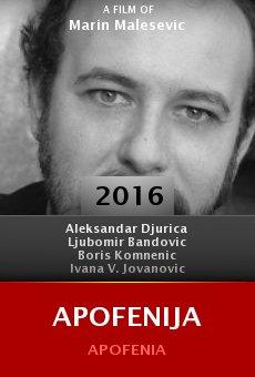 Ver película Apofenija