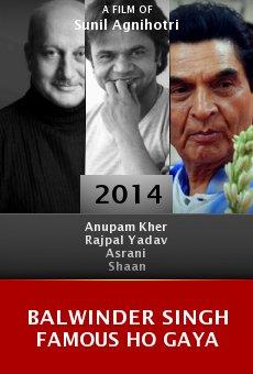 Ver película Balwinder Singh Famous Ho Gaya