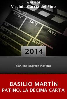 Basilio Martín Patino. La décima carta online free