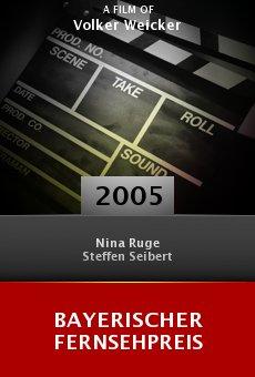 Bayerischer Fernsehpreis online free