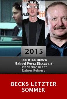 Ver película Becks Letzter Sommer