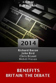 Watch Benefits Britain: The Debate online stream