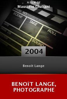 Benoît Lange, photographe online free