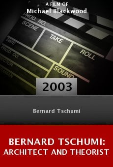 Bernard Tschumi: Architect and Theorist online free